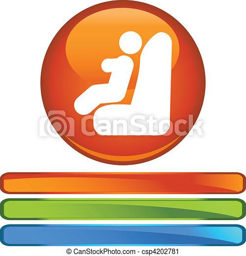 Baby Car Seat - csp4202781