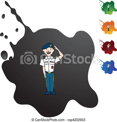 Army Uniform - csp4202933