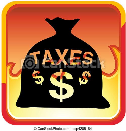Taxes - csp4205184