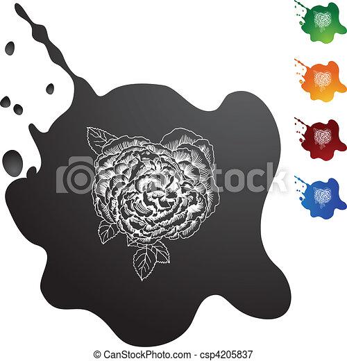Rose Bloom - csp4205837