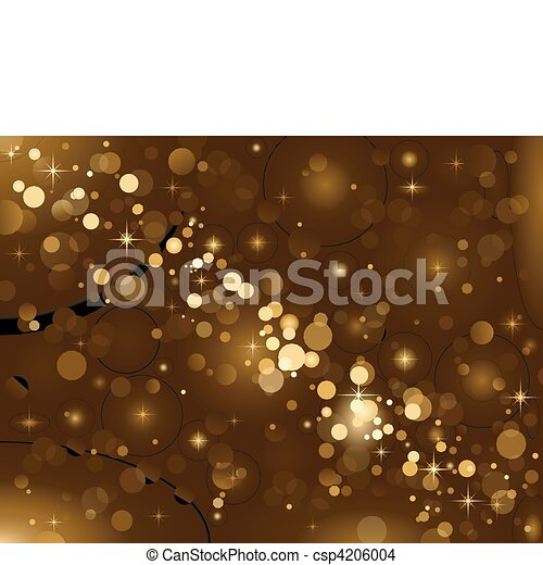 Magic lights, background sparkle, b - csp4206004