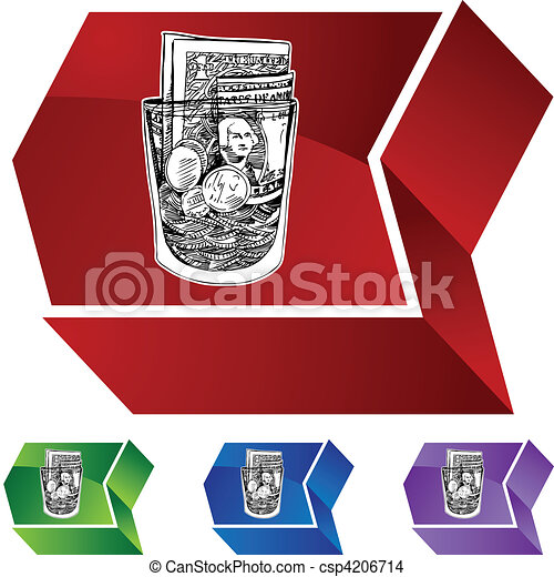 Tip Jar - csp4206714