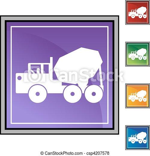 Cement Truck - csp4207578