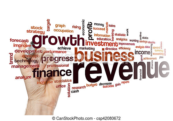 Revenue word cloud concept - csp42080672