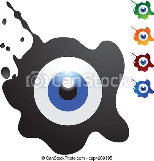 Eyeball - csp4209195