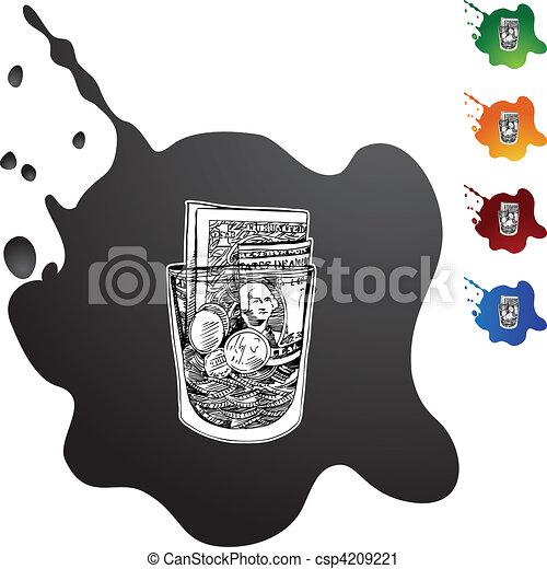 Tip Jar - csp4209221