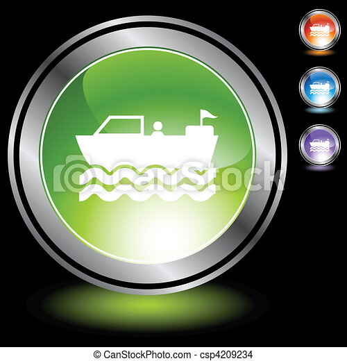Motor Boat - csp4209234