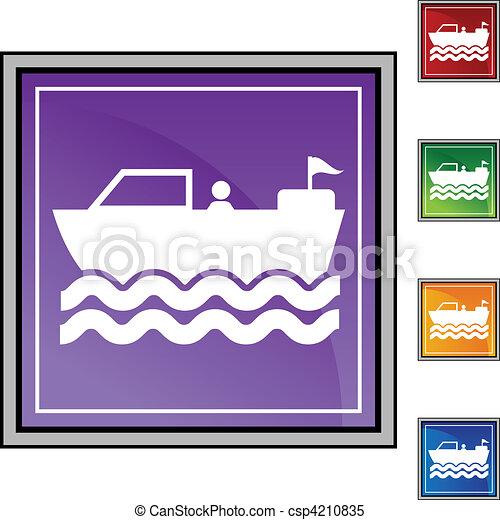 Motor Boat - csp4210835
