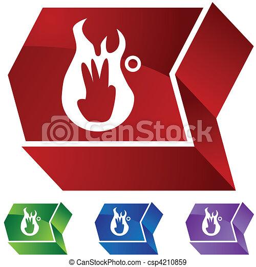 Third Degree Burn - csp4210859