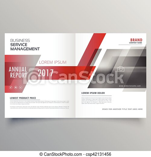 Clipart Vector of stylish brand identity business magazine cover – Free Report Cover Page Template