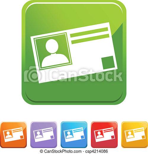 Identification Card - csp4214086