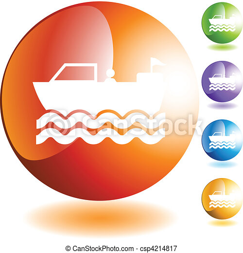 Motor Boat - csp4214817