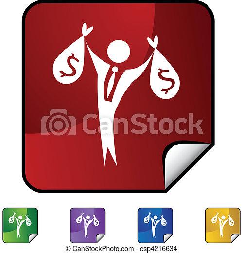 Wealthy Businessman - csp4216634