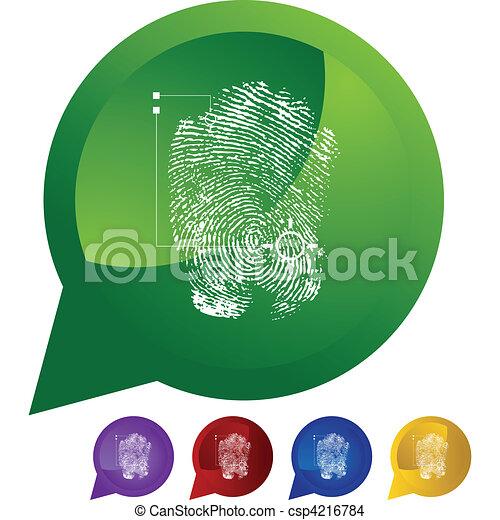 Thumbprint - csp4216784