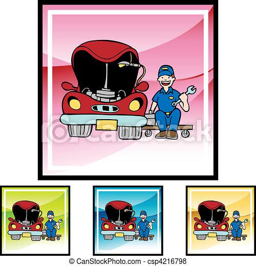 Car Fix - csp4216798