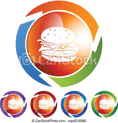 Burger - csp4216886