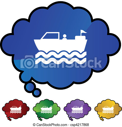 Motor Boat - csp4217868