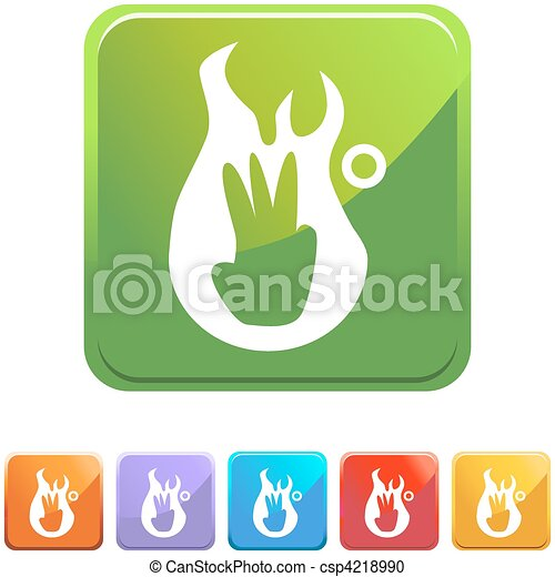 Third Degree Burn - csp4218990