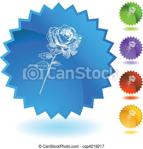 Rose Stem - csp4219217