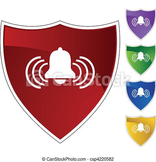 Alert Bell - csp4220582