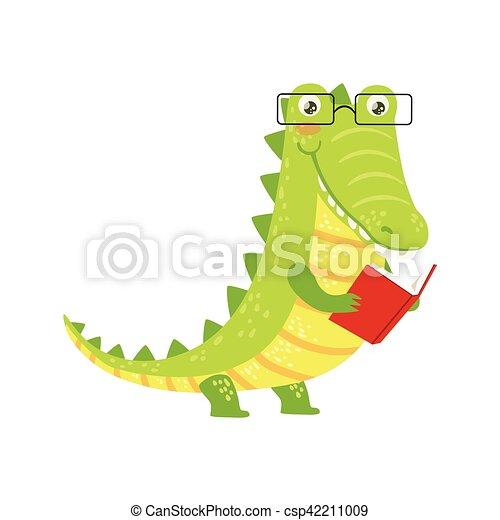 Bücherwurm clipart  Vektor Clipart von tragen, tiere, buchausleihe, zeichen ...