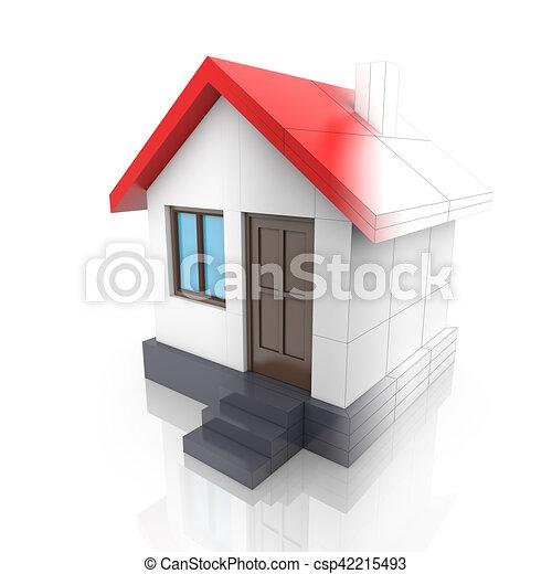 Dessin 3d maison projet maison virages modle dessin d for Projet maison 3d