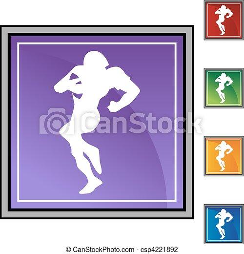 Quarterback - csp4221892