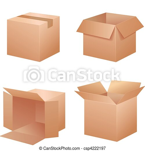 Vector packing boxes - csp4222197