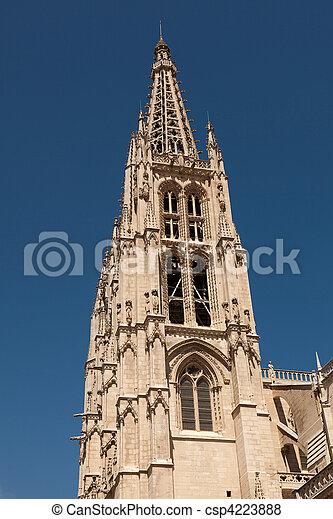 Cathedral of Burgos, Castilla y Leon, Spain - csp4223888