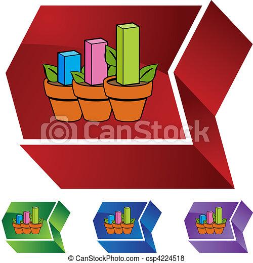 Profit Plant - csp4224518