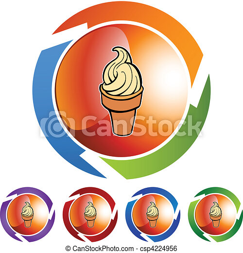Ice Cream Cone - csp4224956