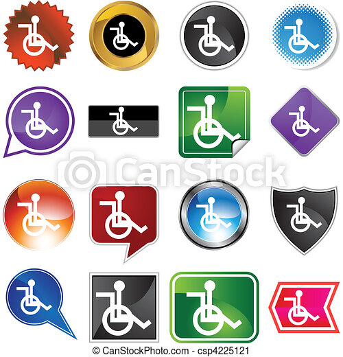 Wheelchair - csp4225121