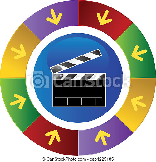 Movie Clapboard - csp4225185