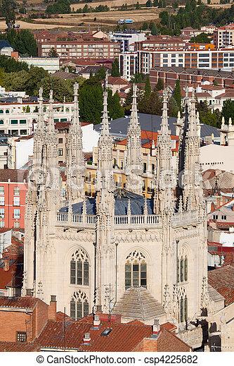 Cathedral of Burgos, Castilla y Leon, Spain  - csp4225682