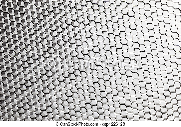 honeycomb grid abstract - csp4226128