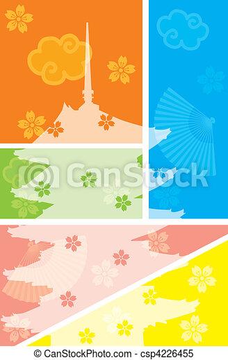 Five Story Pagoda - csp4226455