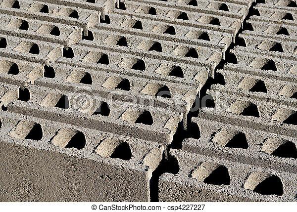 construcción, Bloques, hueco - csp4227227