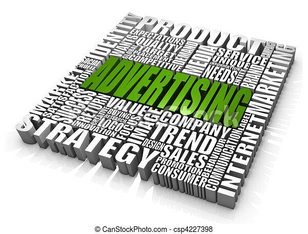 Advertising - csp4227398
