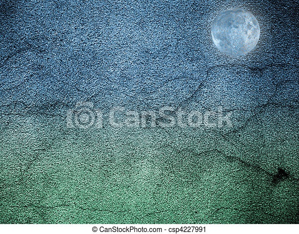 Cement landscape abstration - csp4227991