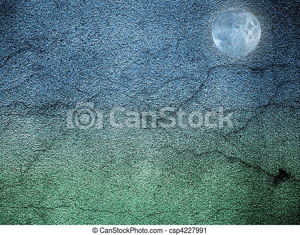 Cement landscape abstration  - csp4227991