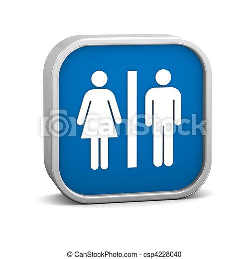 Toilets Sign - csp4228040