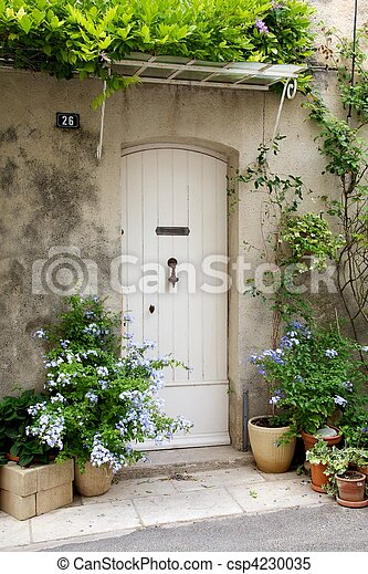 French front door - csp4230035