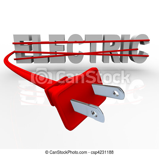 Electric - Wrapped in Power Cord - csp4231188