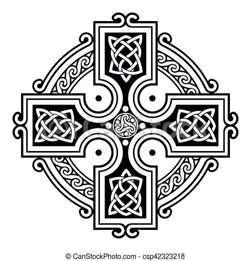 Celtic national ornaments. - csp42323218