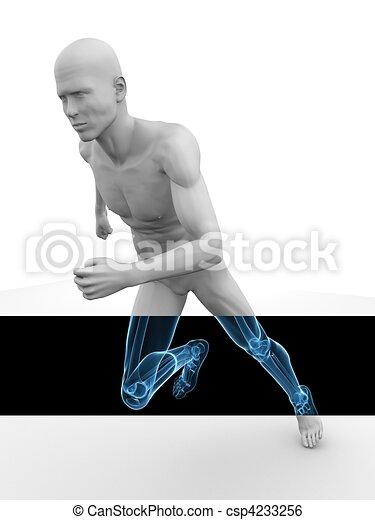 3d model - jogger  - csp4233256