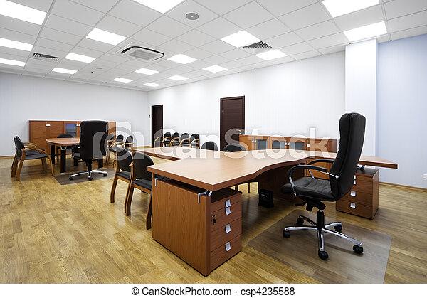 images de moderne bureau beau table dans a moderne bureau csp4235588 recherchez. Black Bedroom Furniture Sets. Home Design Ideas