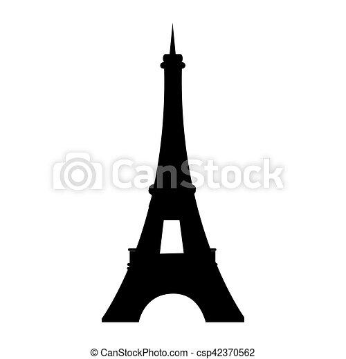 Paris eiffel tower - csp42370562