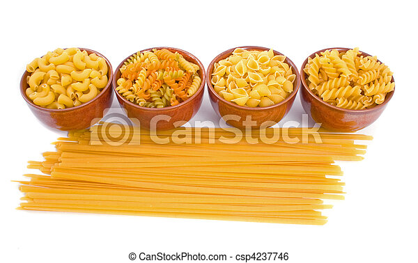 Selection of Dry Pasta - csp4237746