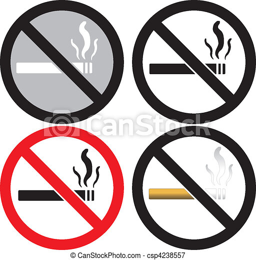 No Smoking Sign - csp4238557