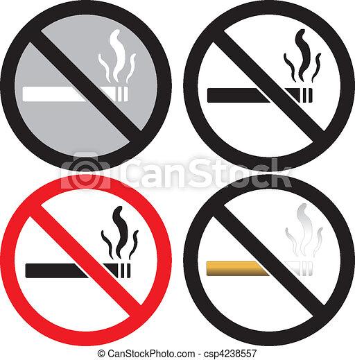 No Smoking Sign - csp4238557
